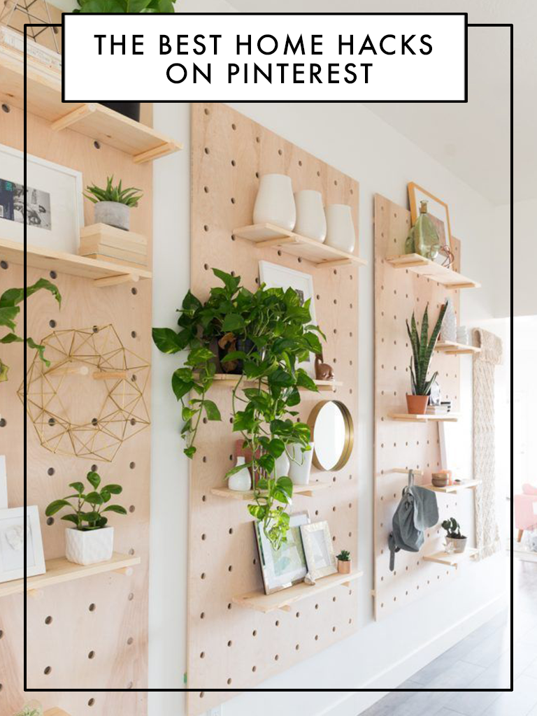 The Coolest Hacks On Pinterest For The Modern Home   Diy home ...