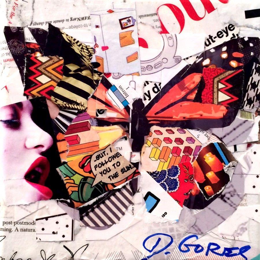 Art Prints: Collage Art by Derek Gores | collage ...
