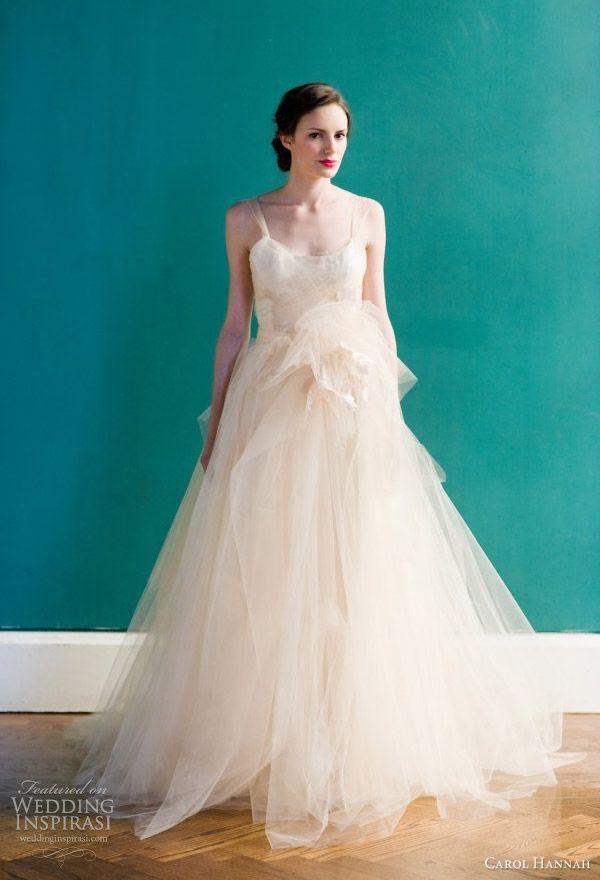 Carol Hannah Spring 2013 Wedding Dresses | Peach weddings, Wedding ...