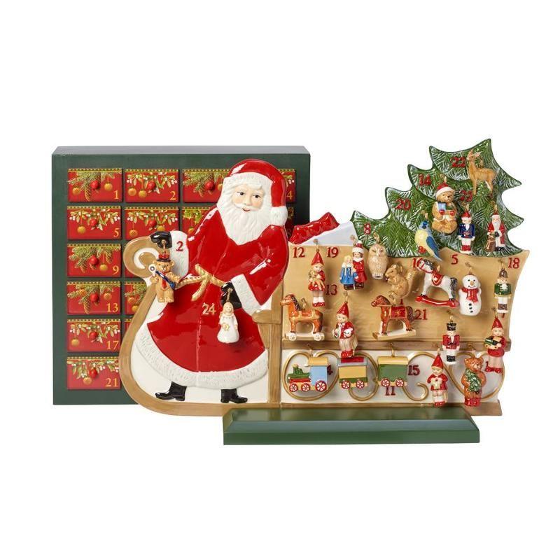 Villeroy /& Boch Schale Santa mit Rentier V/&B Christmas Bowl Santa with reindeer