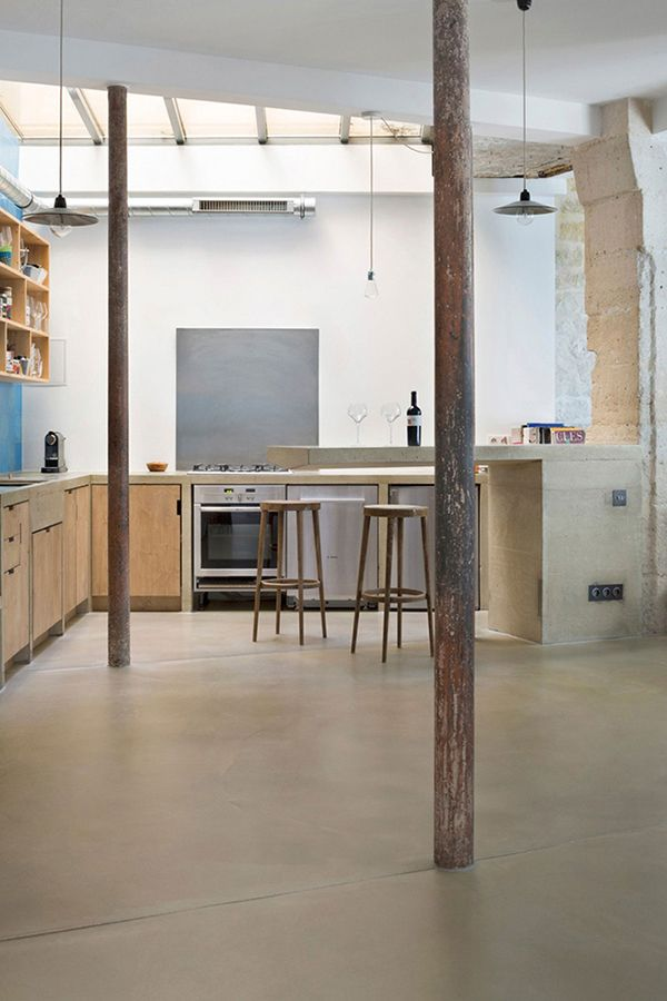 6 Champagne, Interiors and Kitchens