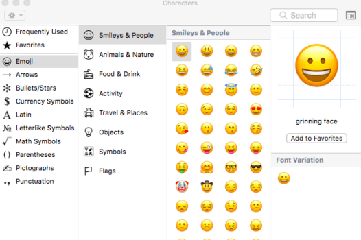 How To Use Emoji On Your Mac Emoji List Emoji Messages