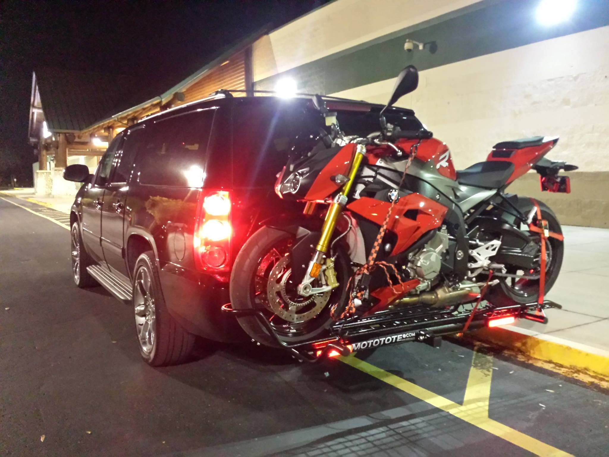 Nadeem s bmw on his mototote mtx sport in orlando florida