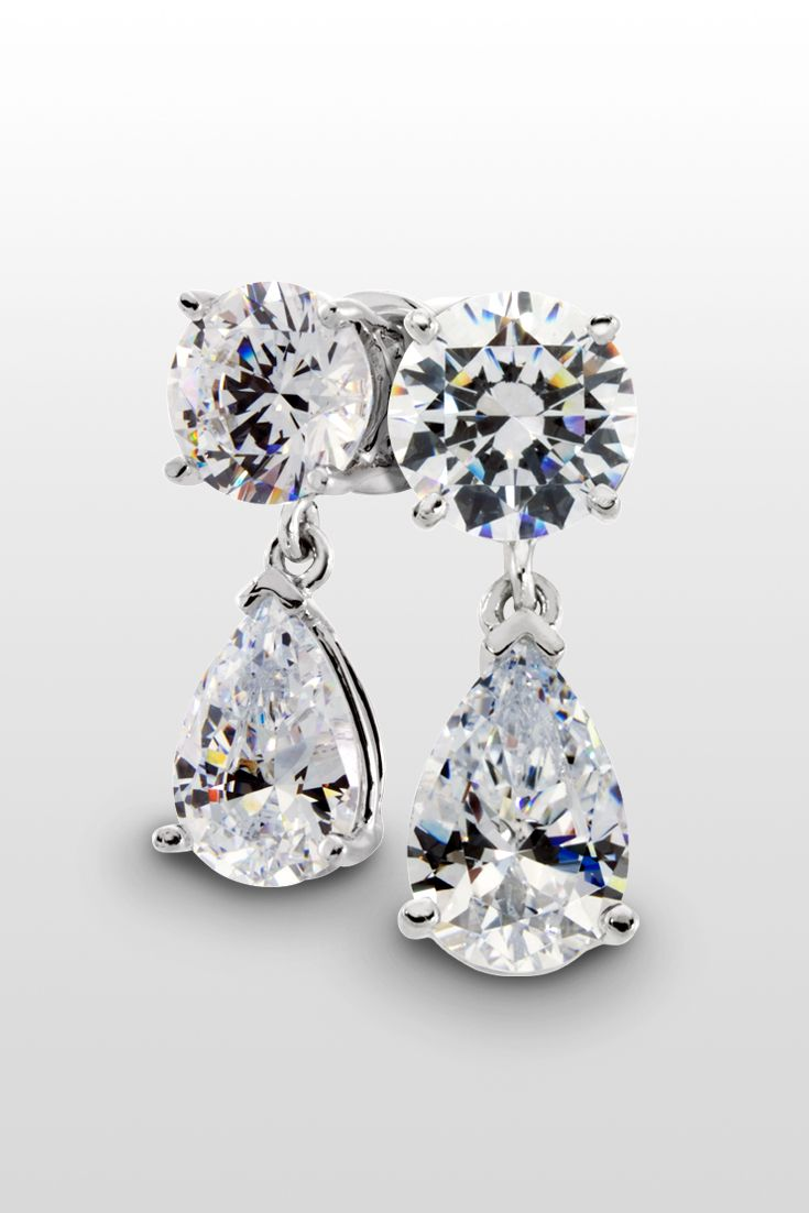 The Leto Earrings Diamond Nexus Top Drop Perfect For A Night Out With Friends Or Just Right About Of Sparkle Your Wedding Day
