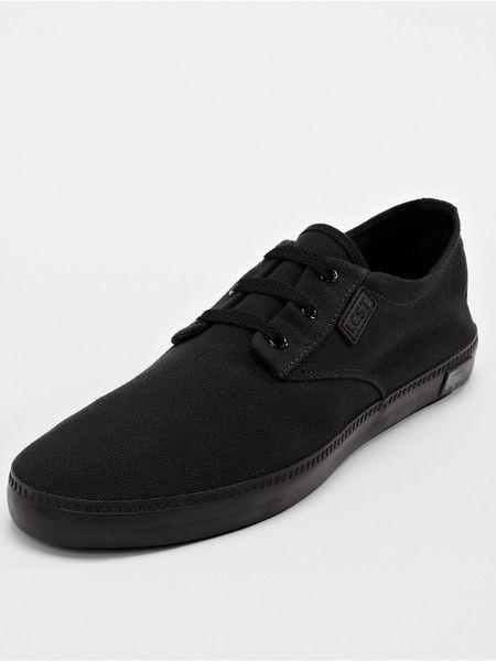 dd1cc1394477 Lacoste Lacoste Malahini Mens Trainers Blackdark Grey in Black for Men  (black dark grey) - Lyst
