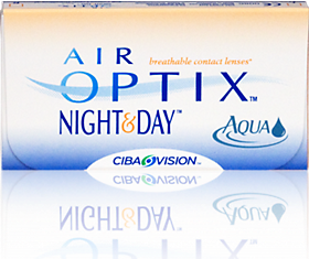 Air Optix Night & Day Aqua Contact Lenses 1800 CONTACTS