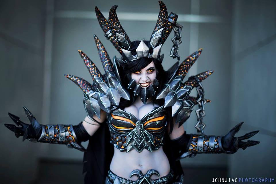 Jessica Nigri es Deathwing | Deathwing Cosplay | Pinterest ...