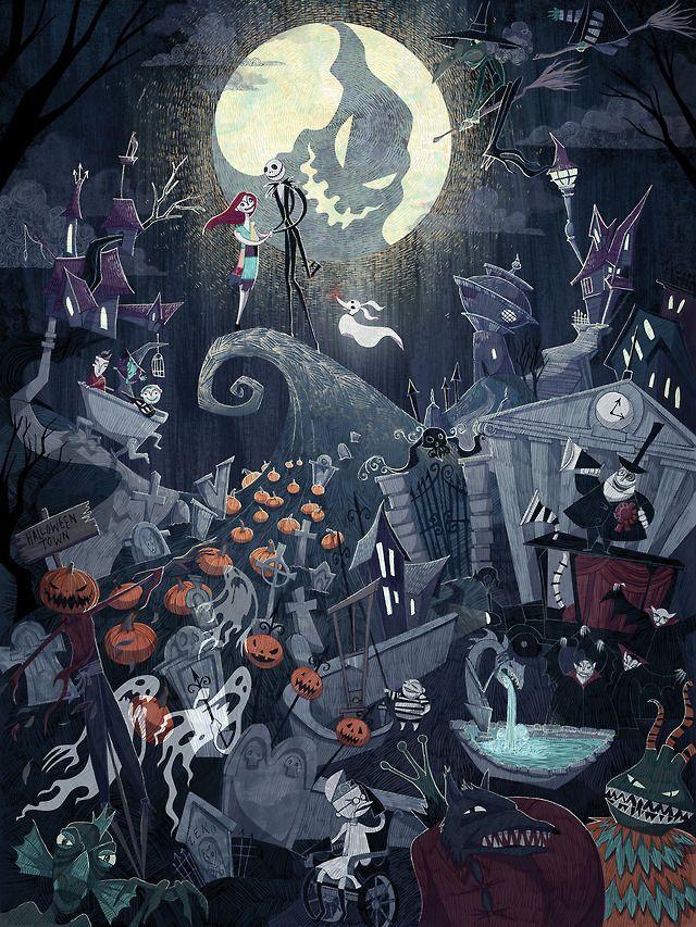 Pin By Paumoca On Inside Of Disney Nightmare Before Christmas Drawings Nightmare Before Christmas Tattoo Nightmare Before Christmas Wallpaper