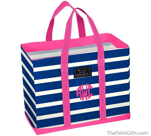 Scout Bags Monogrammed Preppy Beach From The Palm Gifts Addictive Http