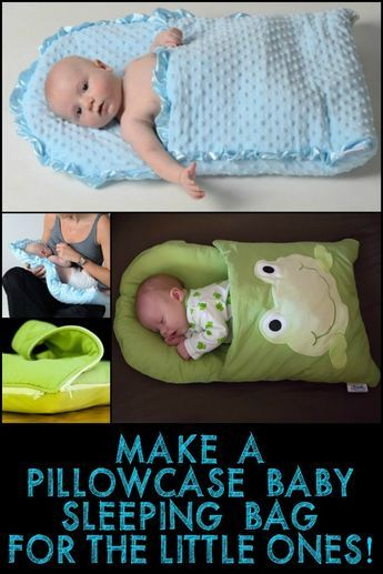 Photo of This Pillowcase Baby Sleeping Bag is a Great Gift Idea for Expecting Moms or Mom…