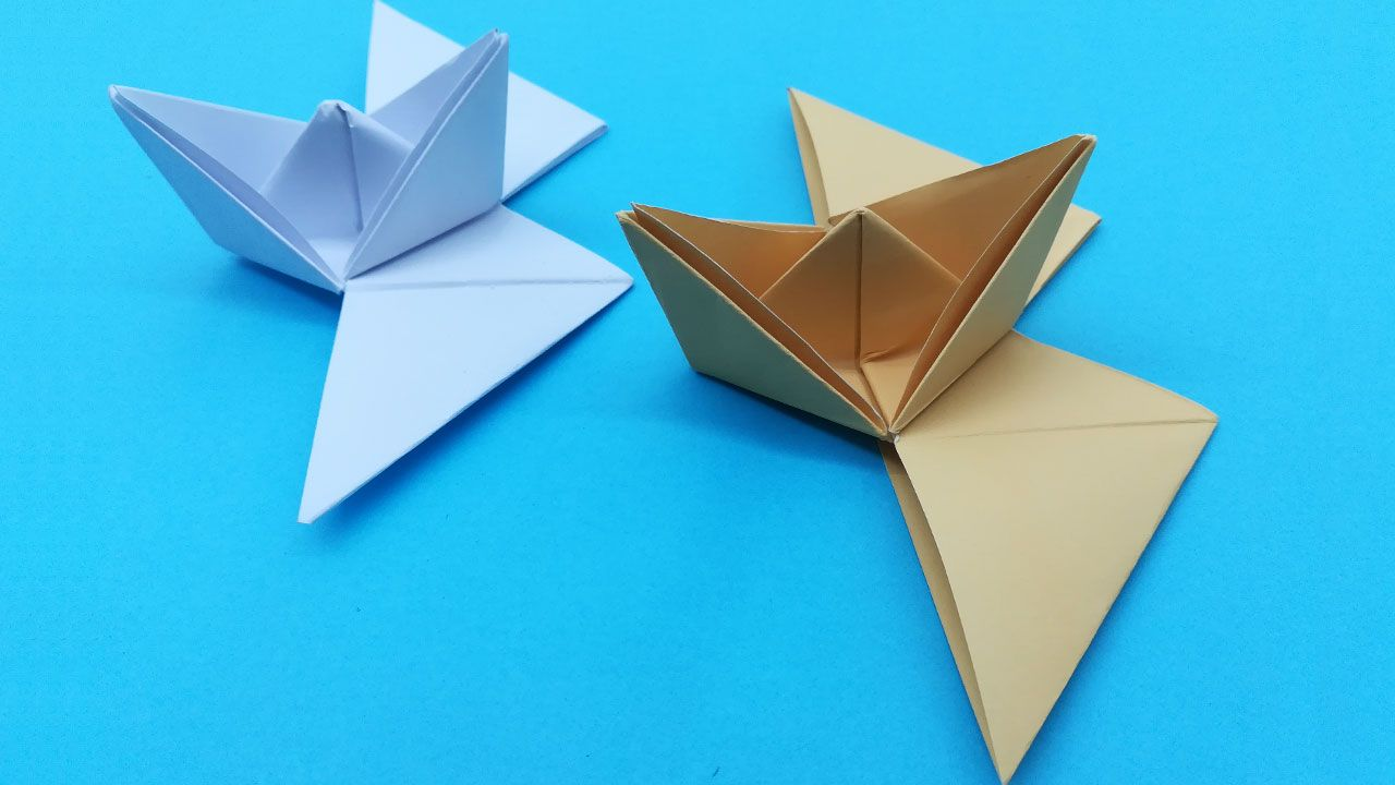 paper boat folding instructions | Paper boat, Paper boat ... | 720x1280