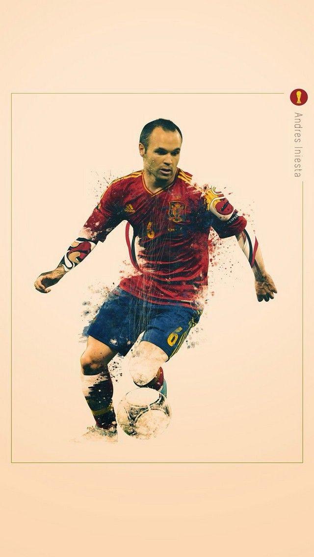 Andres Iniesta Mobile9 Spain National Football Team Iniesta World Cup