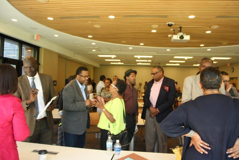 Approximately 100 people attended African American Leadership Forum's employment and business opportunity forum on September 10.