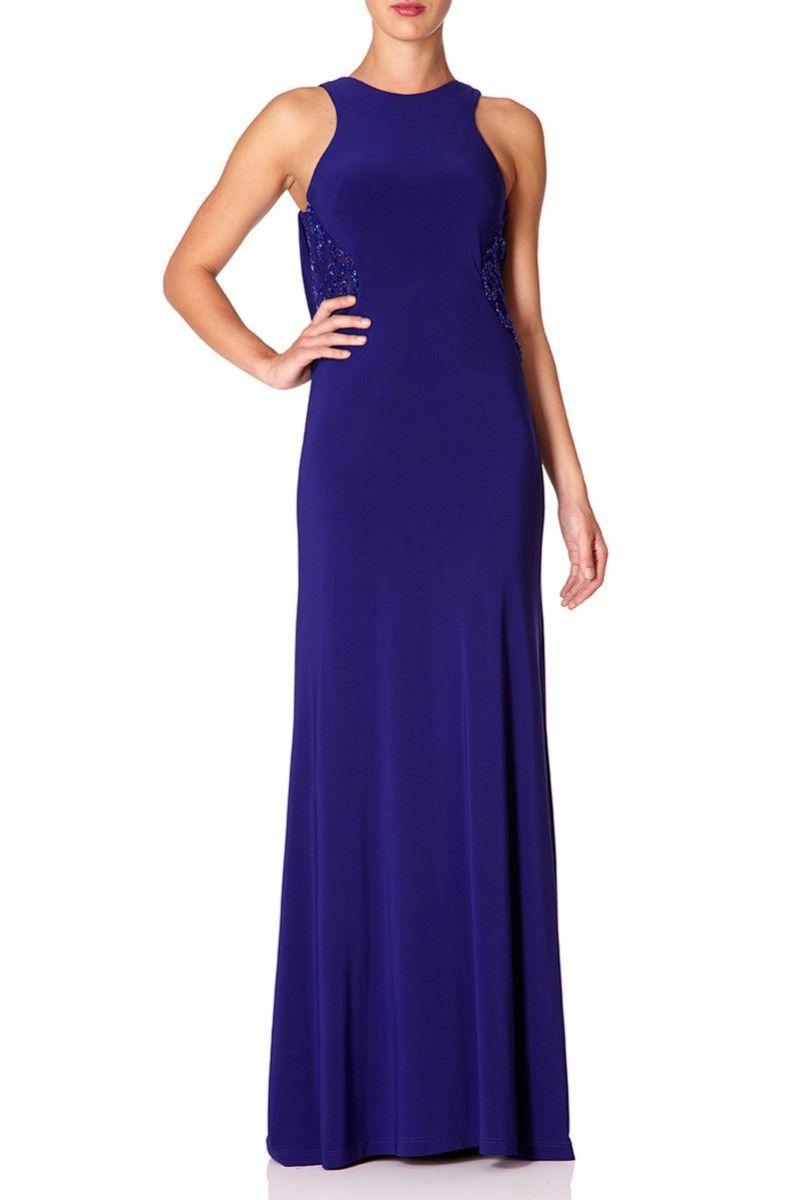 Forever Unique - \'Nevada\' maxi dress Purple | Women\'s Dresses Online ...