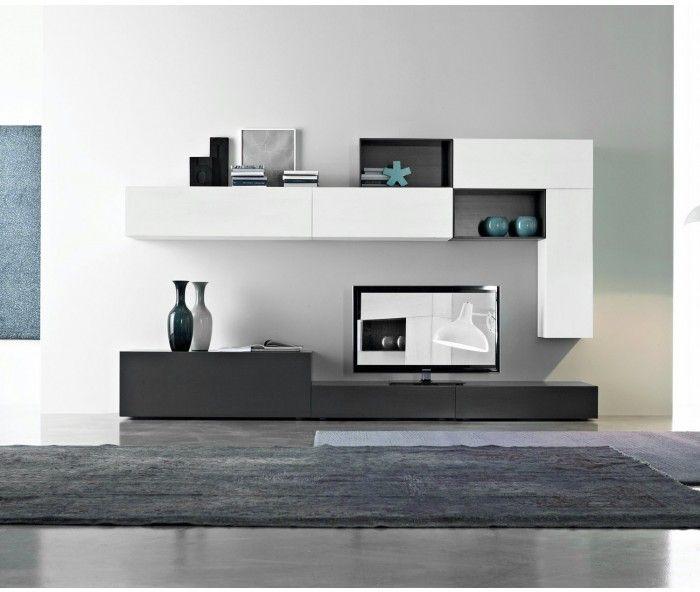 Fgf Mobili Wohnwand C26b Home In 2019 Living Room Tv Tv