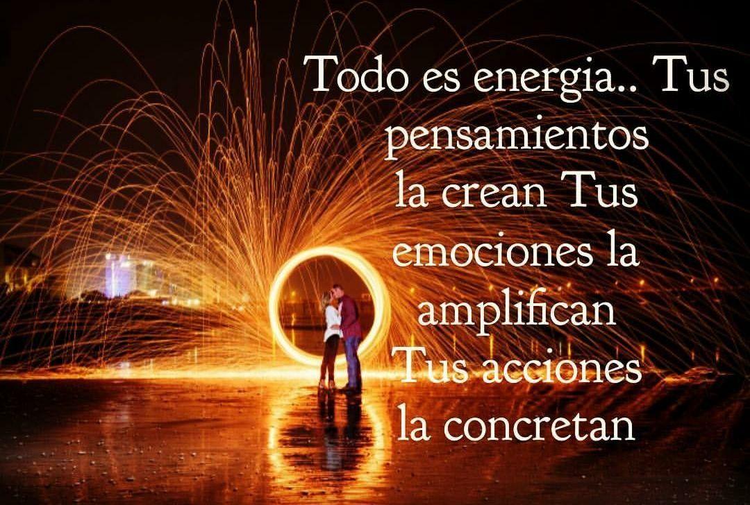 Todo es Energía | Somos energia, Energía, Emociones
