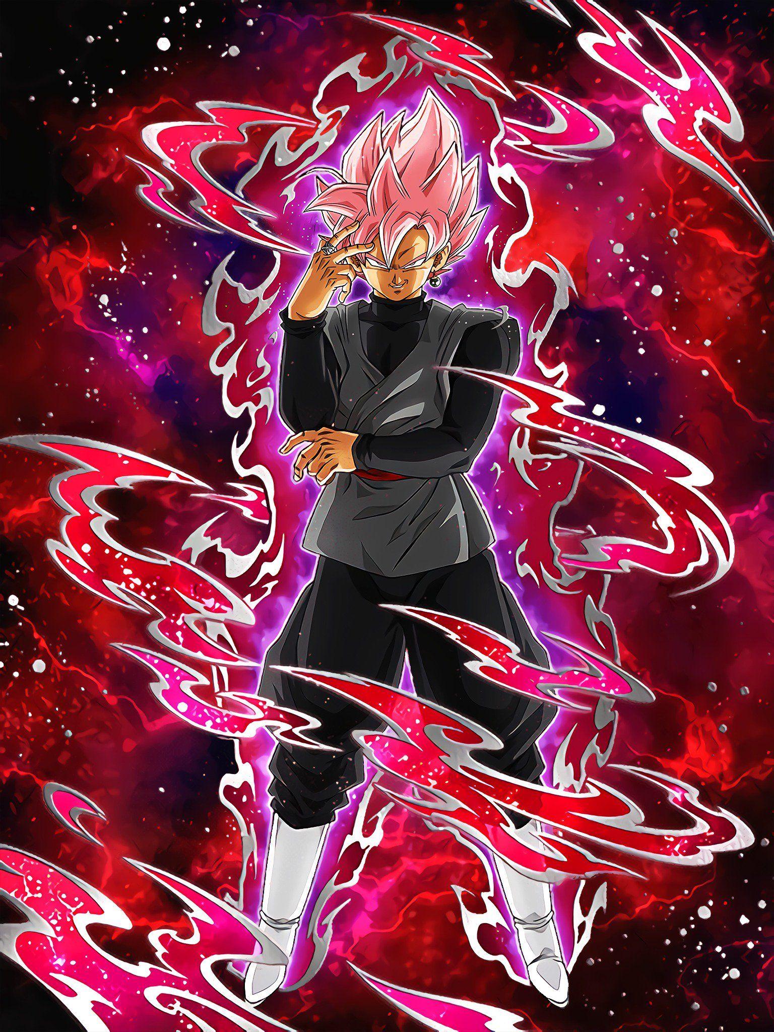 Beautiful Domination Goku Black Super Saiyan Rose Dragon Ball Super Goku Anime Dragon Ball Super Dragon Ball Super Manga