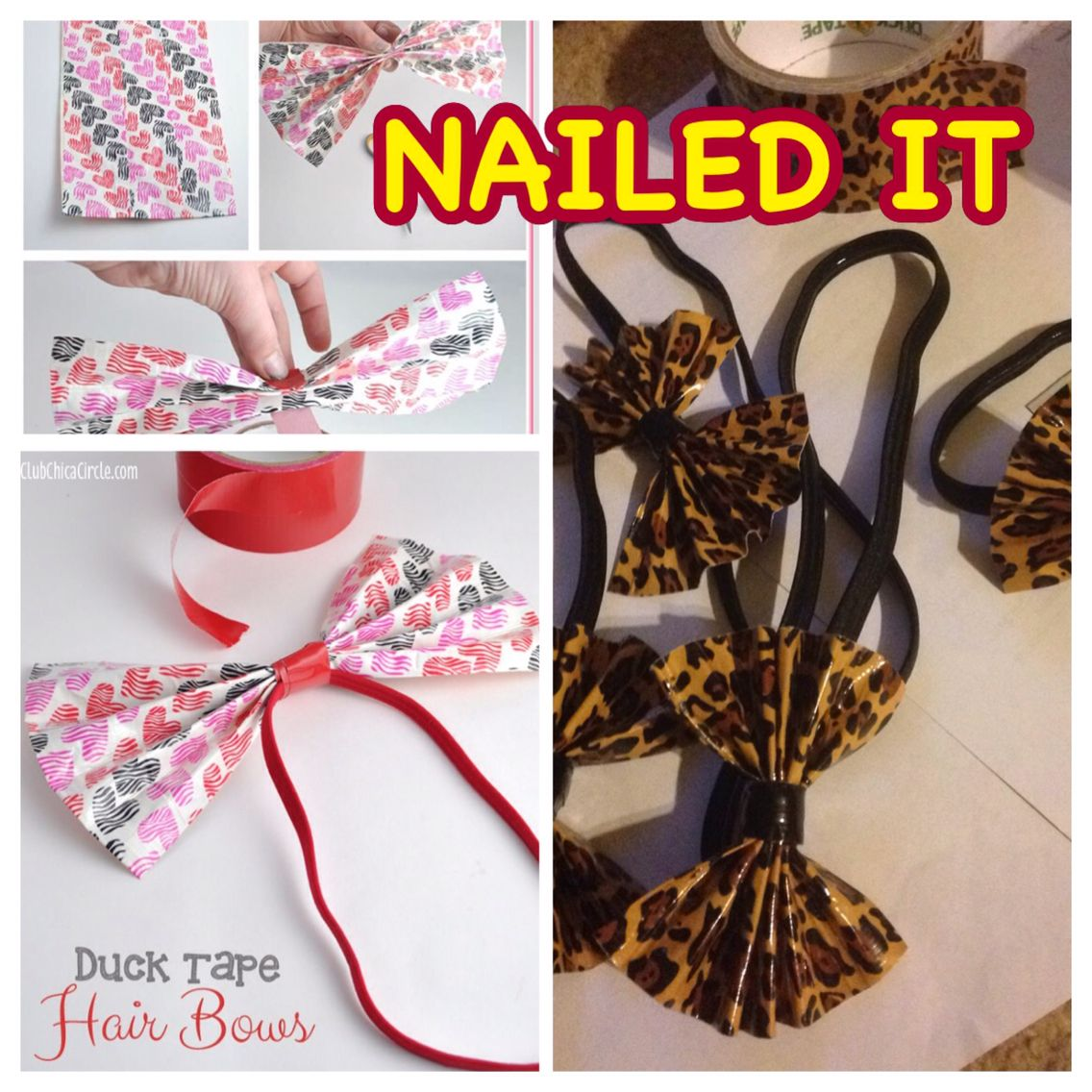 Duct Tape Headbands For My Little Girls Soccer Team The Cheetah Girls Are Gonna Be Beautiful The Cheetah Girls Girls Soccer Team My Little Girl
