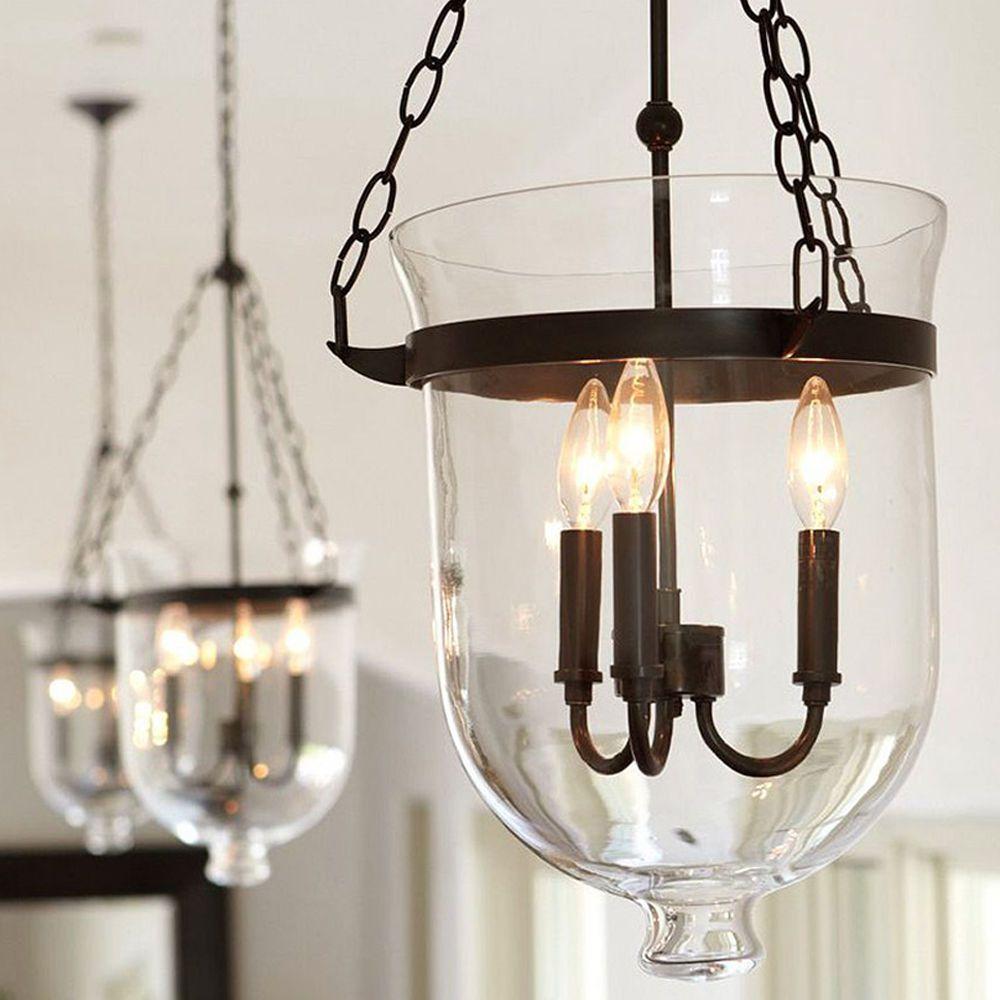 Diy Pendant Lighting 3 Lights Rustic Chandelier Loft Bar Cafe Pendant Light Glass Shade