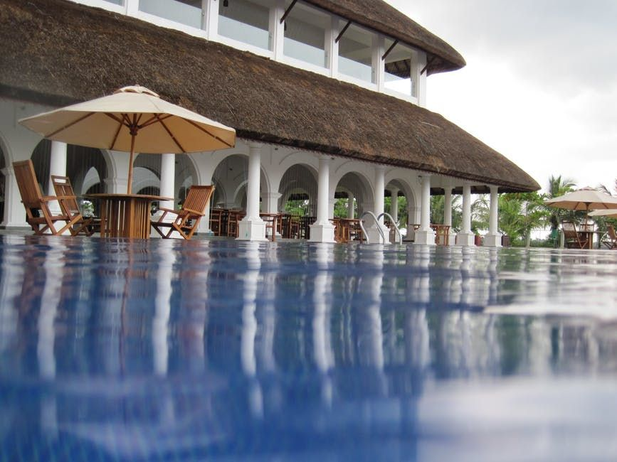 architecture, hotel, pool