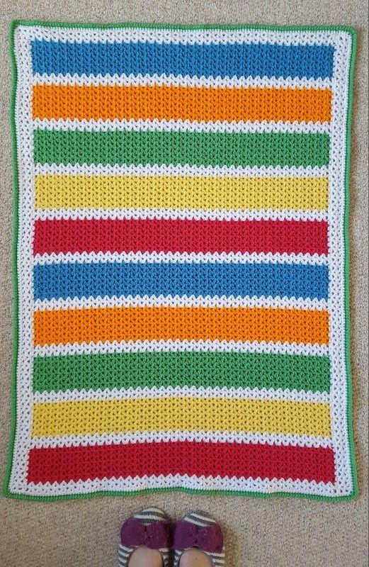 V Stitch Crochet Baby Blanket Crochet Blankets Free Pattern And