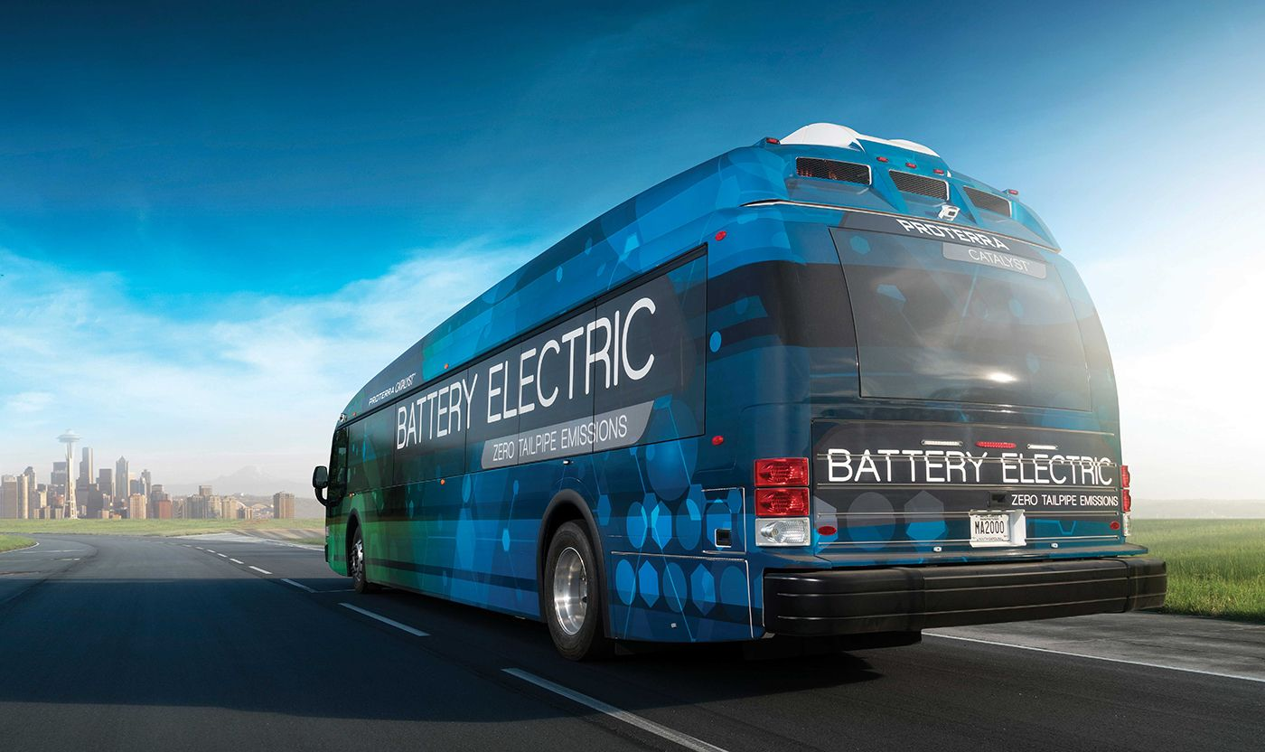 Proterra wants to build autonomous vehicles for public transit The electric bus of the future may not even have a driver.