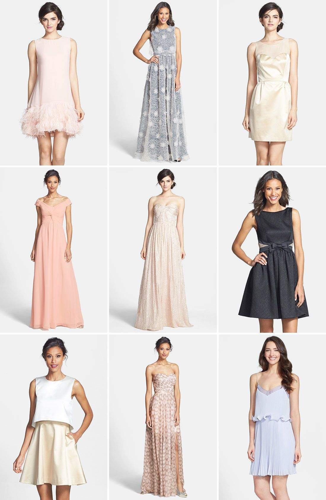 Swooning over these dresses.
