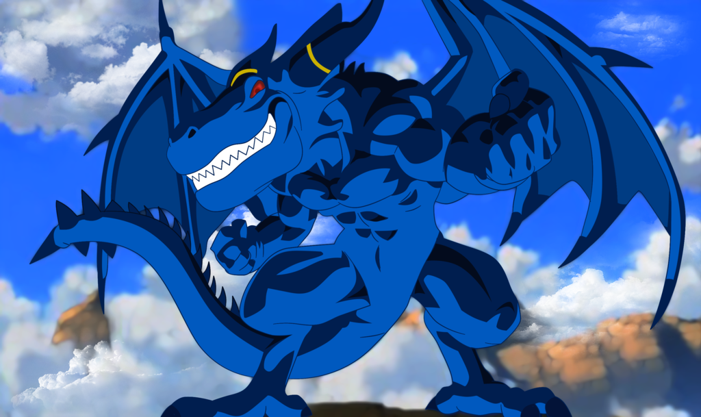 Blue Dragon on AkiraToriyamaFans DeviantArt Anime