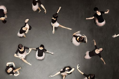 luminence:  ballet from above by laura zalenga on Flickr.