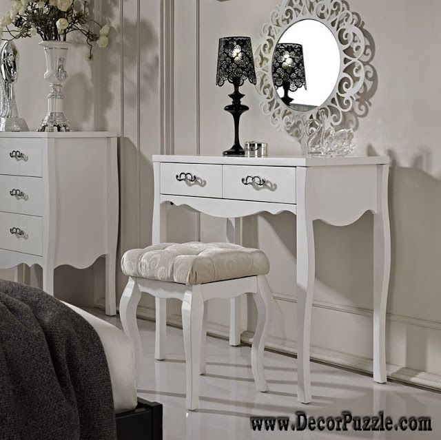 browse our article of the latest white dressing table designs and ideas in modern dressing table designs for small bedroom wooden dressing table