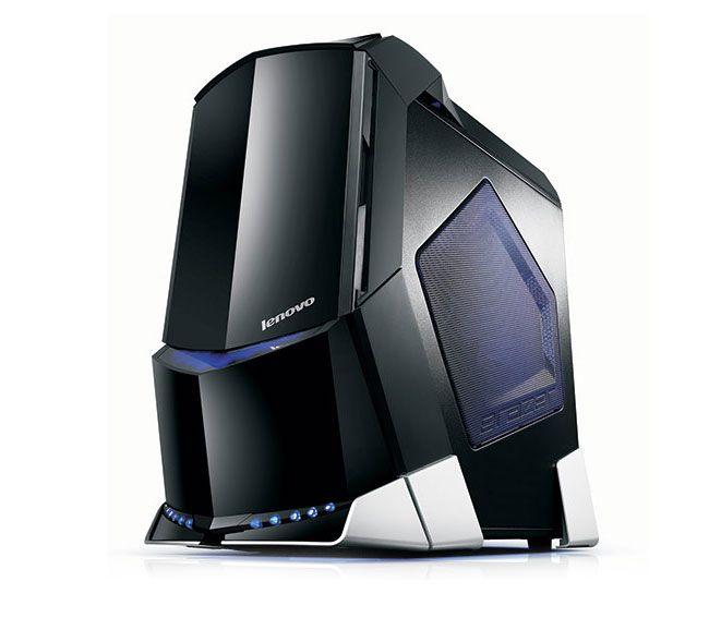 lenovo erazer x700 dual graphics gaming desktop pc gear gaming rh pinterest com