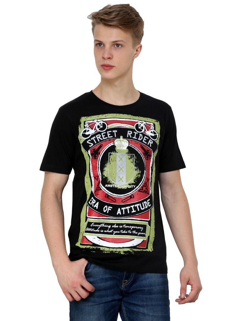Black t shirt jabong - Amsterdam Sin City Red Light District Netherlands Cycle Half Sleeve Single Jersey Cotton Black T Shirt Shop