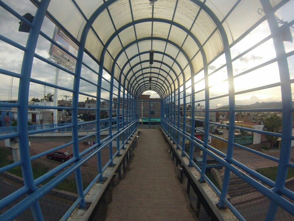 Puente peatonal #Guanajuato #gto