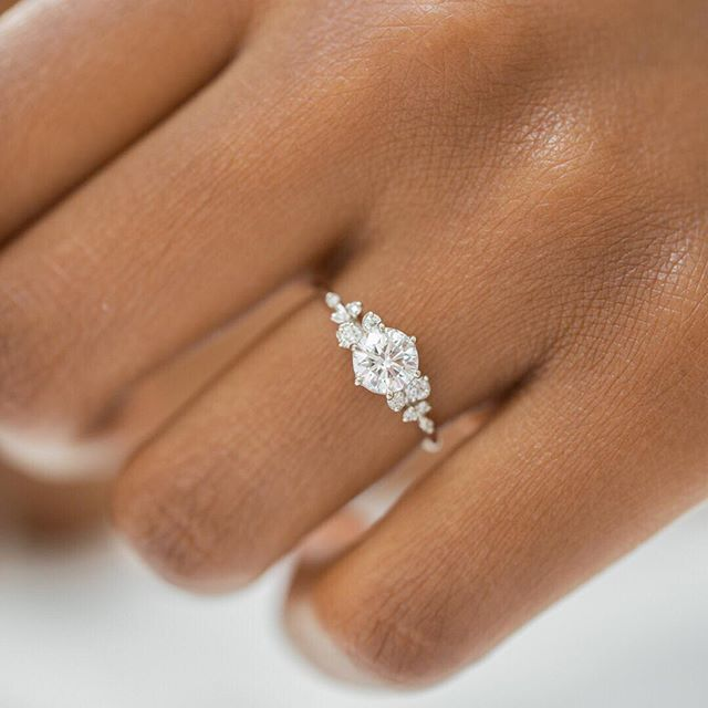 Diamond Snowdrift Ring