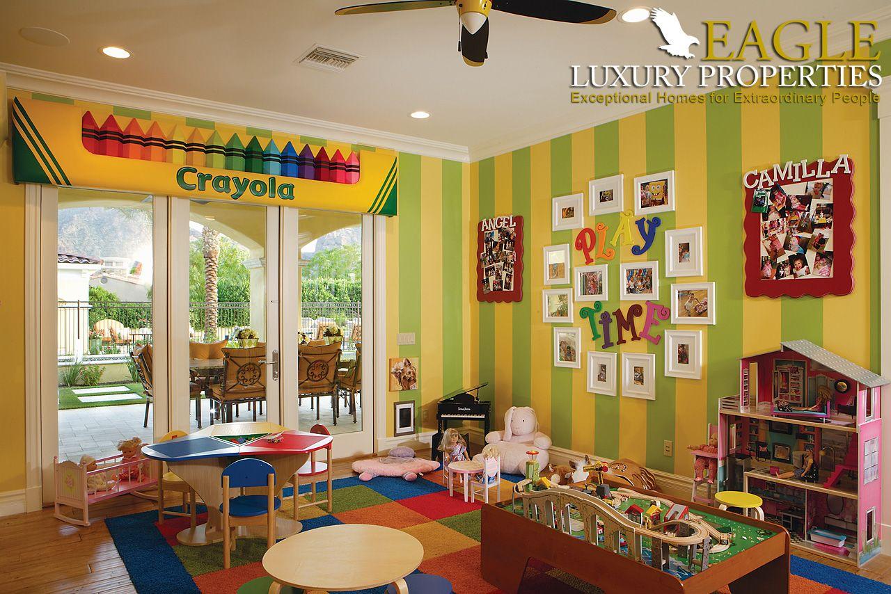 kids playroom in a custom home by eagle luxury properties luxury rh pinterest com