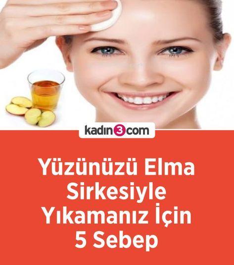 Yüzünüzü Elma Sirkesiyle Yıkamanız İçin 5 Sebep #cilt #ciltbakımı #kadın  #güzellik #sirke #elma #faydalı #bilgi | Skin care, Wash your face, Facial  cleansers