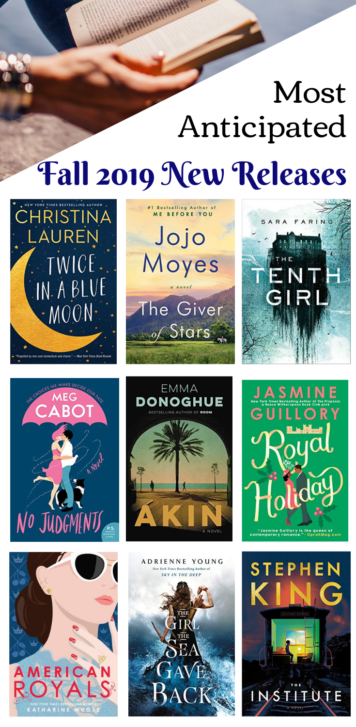 New Book Releases I Can't Wait to Read in 2019 Fallen