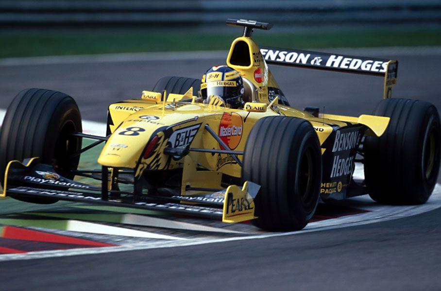 Heinz Harald Frentzen Benson Hedges Jordan Mugen Honda 199 1999 Italian Grand Prix Monza Frentzen S 3rd Grand Prix Racing Formula 1 Car Formula Racing