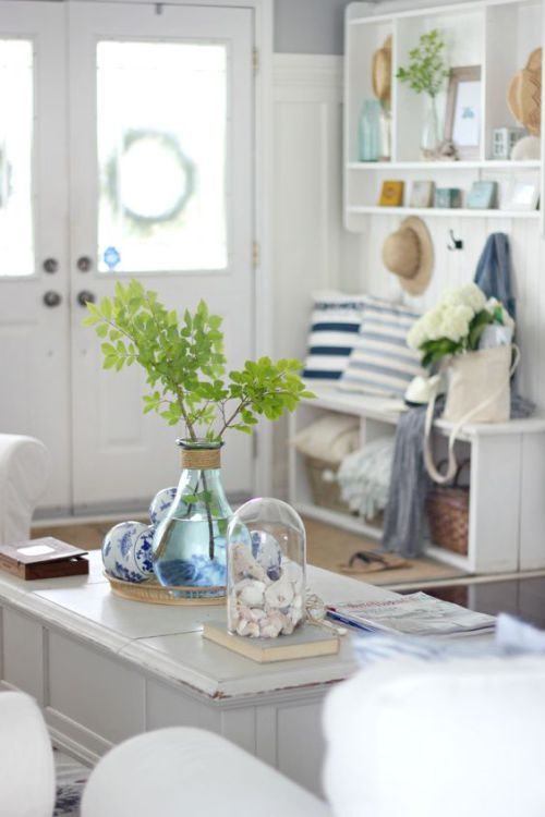 coastal home decor details coastal charm home decor rh pinterest com