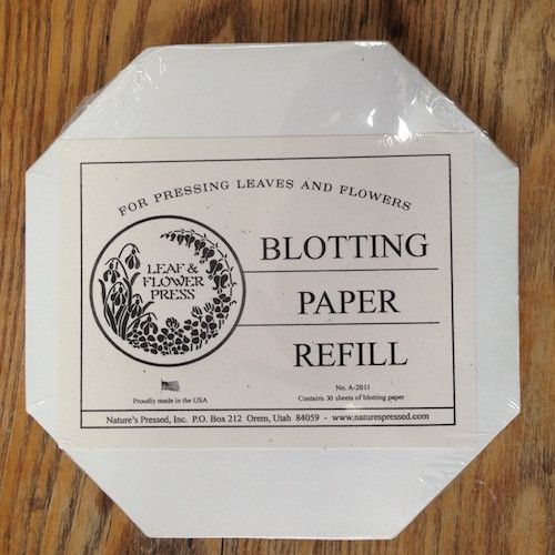 Refill pack of blotting paper for our popular leaf flower press refill pack of blotting paper for our popular leaf flower press leaf flower press blotting paper refill includes 30 sheets of brand new clean blotting mightylinksfo