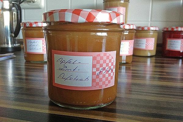 Apfel - Zimt - Marmelade #kartoffelrosenrezept