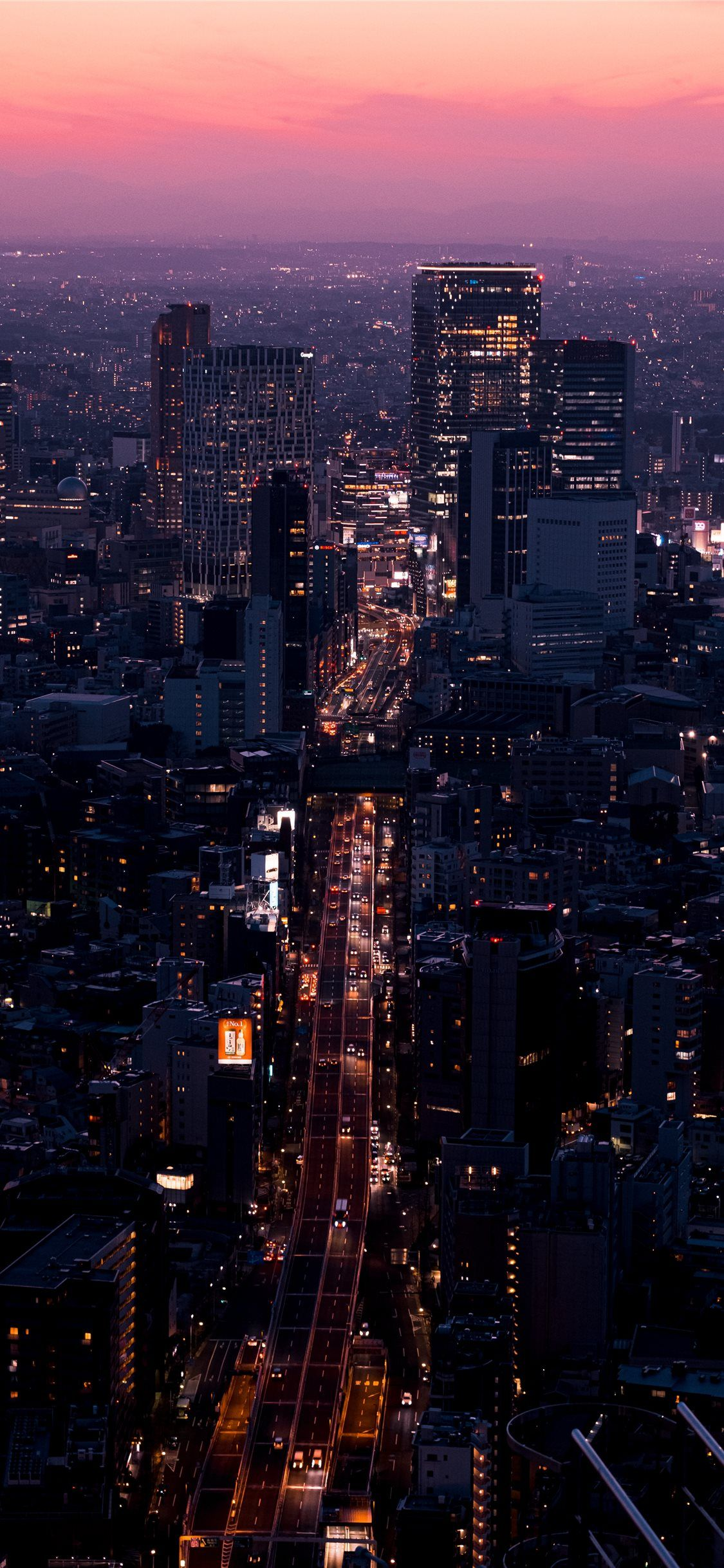 Aerial View Of City Buildings During Night Time Landscape Nature Scenery City Grey Iphone11wallpa In 2020 City Wallpaper Iphone Wallpaper Photography Aerial View