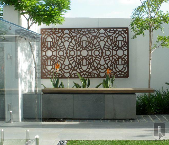 Lucario Laser Cut Screen | outdoor design | Landscape Design by TDL ...