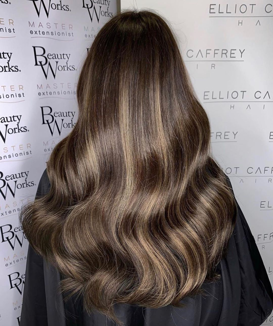 Beauty Works Hair Extensions On Instagram Application Is 18 Slim Line Tape Extensions In A Brunette B Beauty Works Hair Extensions Beauty Works Beauty