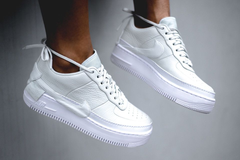 Nike WMNS AF1 Ultra Force Mid White Patent | Nice Kicks