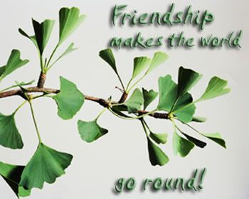 Friendship makes the world go round.