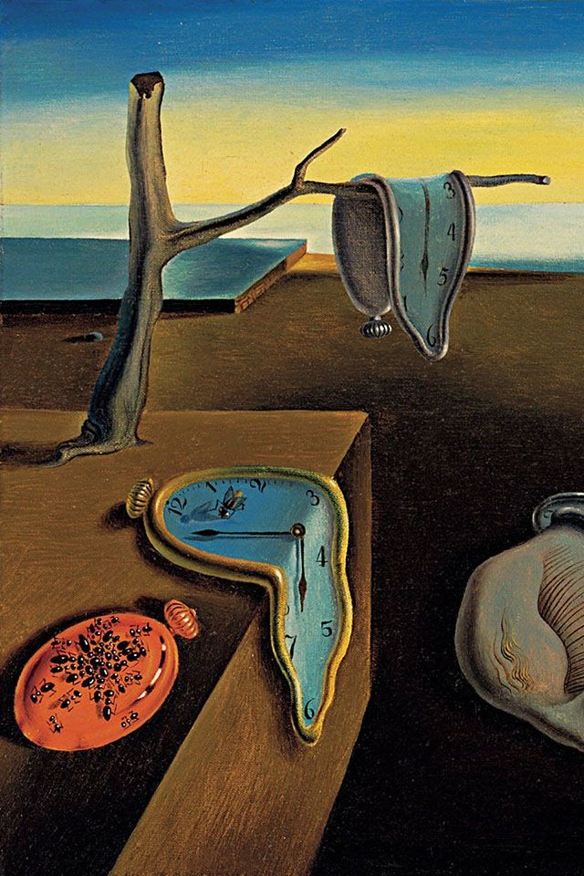 Salvador Dali Melting Clocks This is a famou...