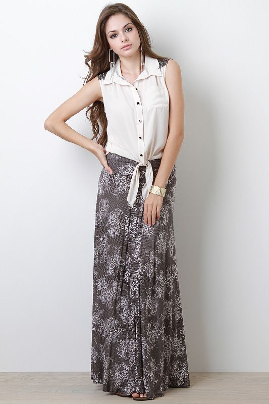 Flourish Maxi Skirt