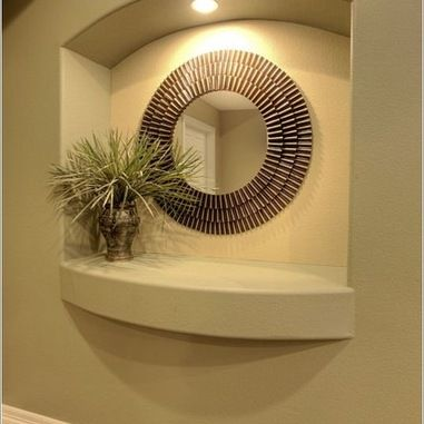 Wall Niches Designs wall niches design tips ideas Drywall Art Niche Design Ideas Pictures Remodel And Decor