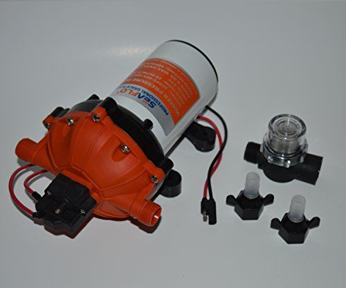 New Water Pump 12 V DC 60PSI 5.5GPM High Pressure Marine on Demand Boat